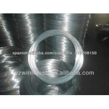 Bwg 22 8kg electro galvanizado alambre de hierro