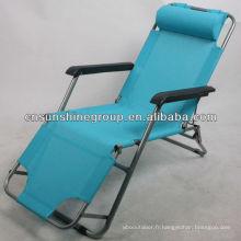 Pliante chaise zéro gravité avec beaucoup de couleurs disponibles