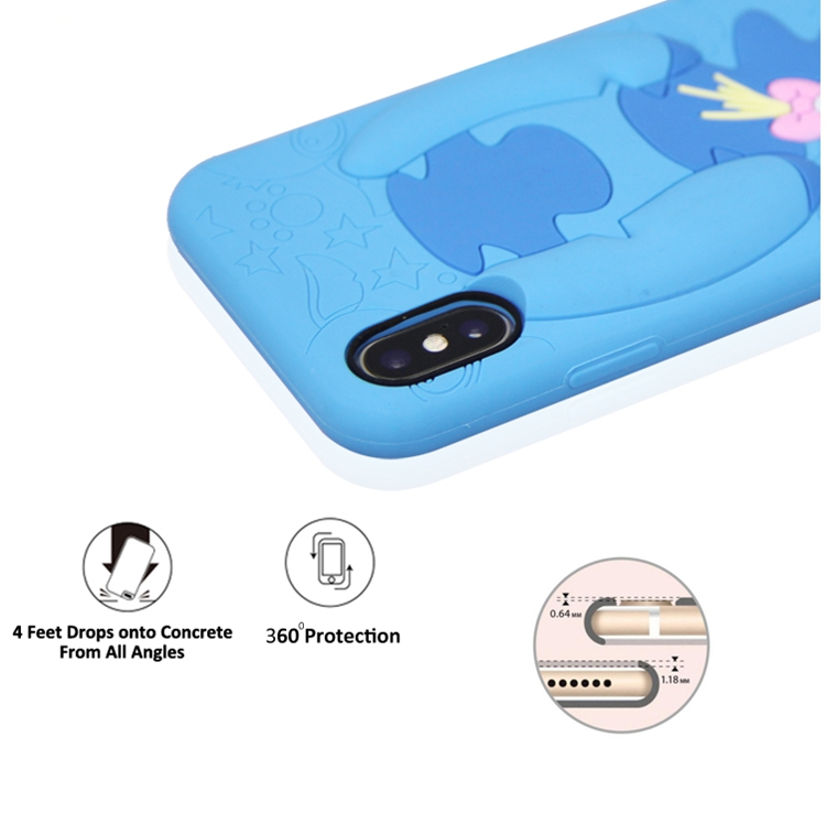 3d Blue Phone Case