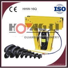 HHW-16Q 12Q máquina de plegado hidráulica de tubos con CE