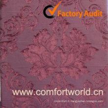Tissu chimique, utilisé pour rideau, canapé