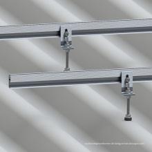 Eternit Betondach Solar L-Feet Kit Aluminium Solar Montagestruktur
