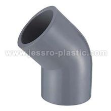 CPVC SCH80 DE ASTM 45 COTOVELO DE GRAUS
