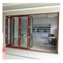 Commercial system high performance folding window door