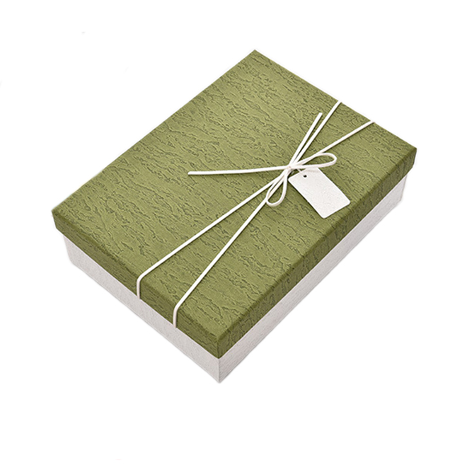 Base And Lid Fancy Paperboard Gift Box