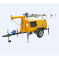 Small Portable Diesel Generator Emergency Lighting Tower