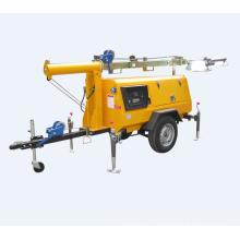Small Portable Diesel Generator Emergency Lighting Tower
