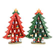 La table en bois de maison de marque de FQ fournit la décoration de Noël