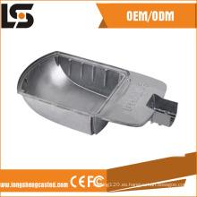 Fabricantes de la vivienda de la sombra de la lámpara de calle del aluminio del LED de China