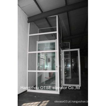 Espaço economizando elevador de vidro elevador exterior da China