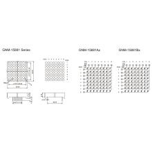 1,5 Zoll, 3,7 mm DOT (GNM-15881Ax-Bx)