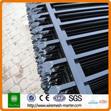 powder coated  steel tube fence
