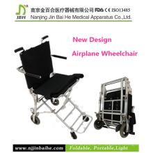 Cadeira de rodas de transporte de avião ultra leve