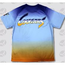 OEM Moda Dye Sublimated Tee Shirts para Hombres