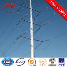 Pólo de aço da linha de transmissão 10kv