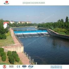 Саморегулирующийся надувных резиновых водяных ворот для проекта conservancy воды
