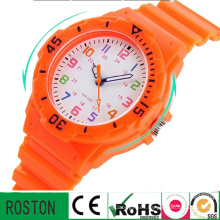 Fashion Lady Watch Water Resistant Silicone Child Watch