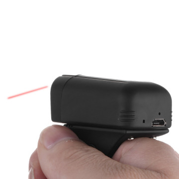 Cincin Finger Bluetooth 2D Barcode Reader
