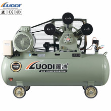 W belt driven air compressor 3 head ac power 8bar