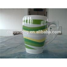 verlaufenden heiße Produkte benutzerdefinierte Keramik Kaffeebecher, Werbe-Becher