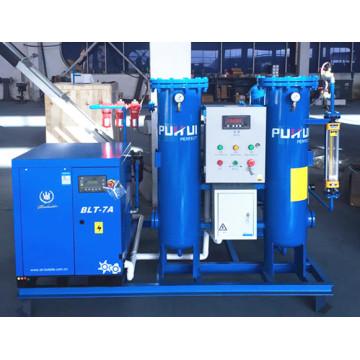 Générateur d'azote à psa monté sur glace Pureté 95% ~ 99,9995%