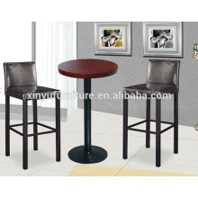 Simple design wooden high table and bar stool XYN1314