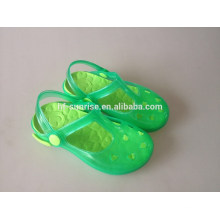 Plastik pvc Sandelholze passen Kinder Schuhe billig Großhandel Kinder Schuhe Schuhe für Kinder