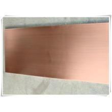 C10100, C10200, C10300, C10400, C10700, C10800, C10910, feuilles de cuivre