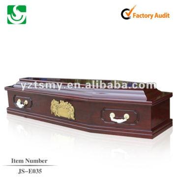 handcraft carving wooden coffins JS-E035