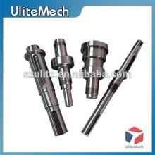 ShenZhen Eixos personalizados com furos Peças CNC de alumínio