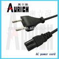 Euro AC Power Cord mains lead VDE certification cable set