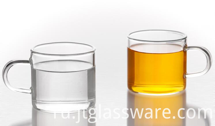 80ml handmade glass tea cup