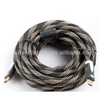 Ventas de la fábrica directamente 13PIN Cable de HDMI para PS3 HDTV LCD varón al varón