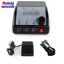 Solong en plastique LCD DisplayHot interrupteur de tatouage alimentation AC / DC alimentation tatouage