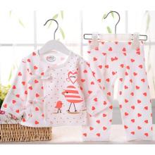 La ropa interior del algodón peinada fija la ropa infantil