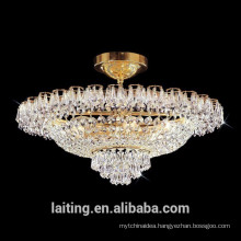 Eygpt crystal hanging ceiling chandelier lamp vintage flunh mounted lights 51137