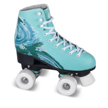 Soft Boot Quad Roller Skate for Adults (QS-43)