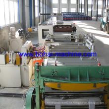 Línea de fabricación de barril de acero de la sección delantera