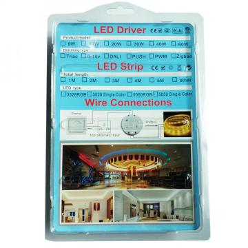 DC12V 24V triac dimbar led strip ljus