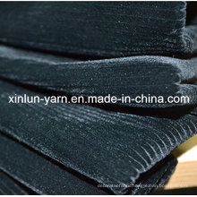 100%Polyester Embossed Flocking Knitted Fabric for Sofa