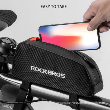 High-Quality Mountain Bike Bag Front Beam Bag Cycling Touch Screen Mobile Phone Bag
