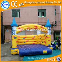 Interior, pequeno, inflável, pular, castelo, jumper, castelo