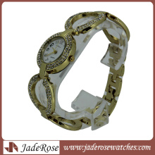 Bling Bling Elegant Fashion Lady Reloj de cuarzo