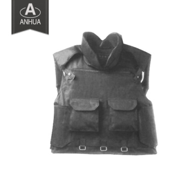 Nivel 3A chaleco militar a prueba de balas con bolsas Magzine