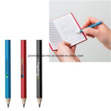 Multicolor Mini Triangle Golf Bleistifte für Werbegeschenke