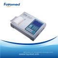 Electrocardiograma automático de Channer de la venta caliente seis