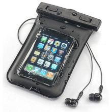 Прочный замок Запечатанный плавательный ПВХ Водонепроницаемый чехол для мобильного телефона (YKY7203-1)
