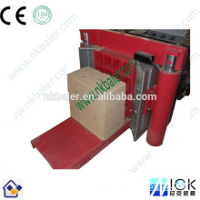 hydraulic wood briquette making machine with wood shaving baling machine