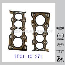 Mazda de calidad superior 3 5 6 Junta de la culata de cilindros para las piezas LF01-10-271