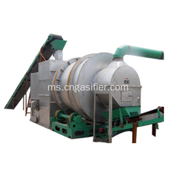 Triple Drum Rotary Dryer untuk Gypsum Powder Mineral